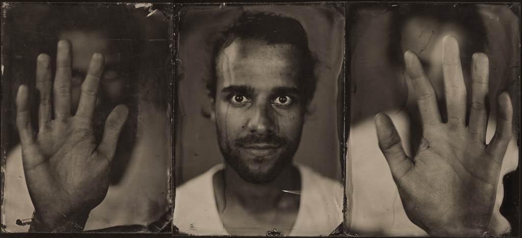 Wet Plate Collodion Triptych